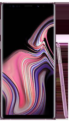 Samsung Galaxy Note 9 128GB Lavender Front
