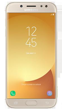 Samsung Galaxy J5 2017 Gold Front