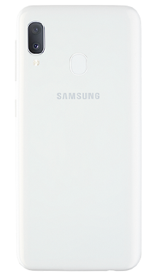 Samsung Galaxy A20e White Back