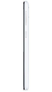 Samsung Galaxy A20e White Side