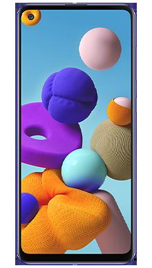 Samsung Galaxy A21s 32GB Blue Front