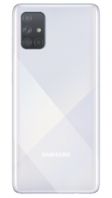 Samsung Galaxy A71 128GB Silver Back
