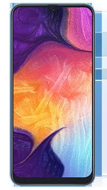 Samsung Galaxy A50 Blue Front