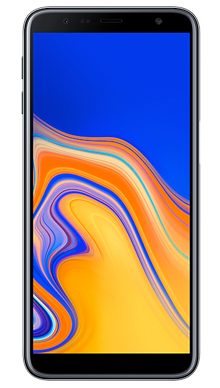 Samsung Galaxy J6 Plus Black Front