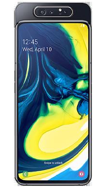Samsung Galaxy A80 Black Front
