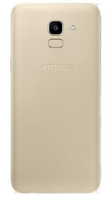Samsung Galaxy J6 Gold Back