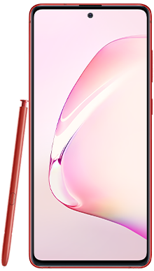 Samsung Galaxy Note 10 Lite 6GB 128GB Red Front