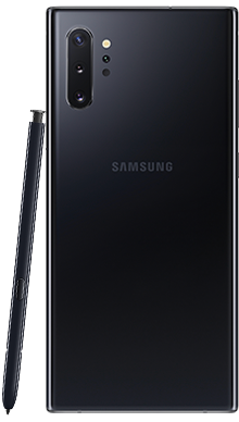 Samsung Galaxy Note 10 Plus 256GB 5G Aura Black Back