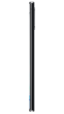 Samsung Galaxy Note 10 Plus 256GB 5G Aura Black Side