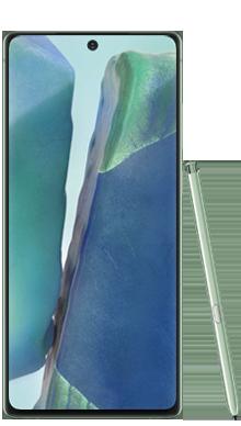 Samsung Galaxy Note 20 256GB Mystic Green Front