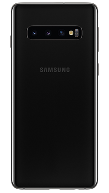 Samsung Galaxy S10 128GB Prism Black Back