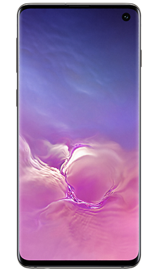 Samsung Galaxy S10 128GB Prism Black Front