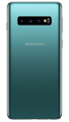 Samsung Galaxy S10 128GB Prism Green Back