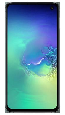 Samsung Galaxy S10e 128GB Prism Green Front