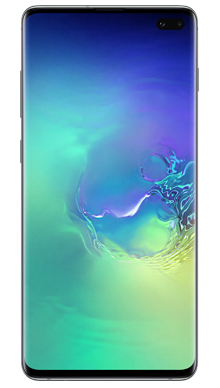 Samsung Galaxy S10 Plus 128GB Prism Green Front