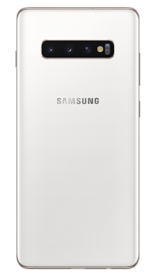 Samsung Galaxy S10 Plus 512GB Ceramic White Back
