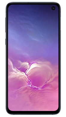 Samsung Galaxy S10e 128GB Prism Black Front