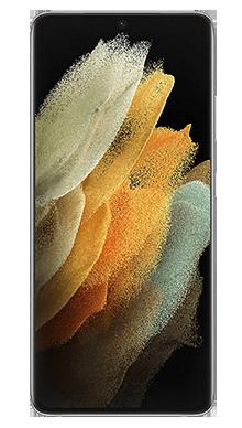 Samsung Galaxy S21 Ultra 5G 256GB Phantom Silver Front