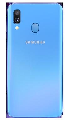 Samsung Galaxy A40 Blue Back