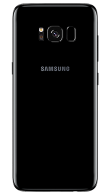 Samsung Galaxy S8 64GB Midnight Black Back