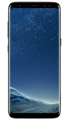 Samsung Galaxy S8 64GB Midnight Black Front