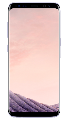 Samsung Galaxy S8 Plus 64GB Orchid Grey Front