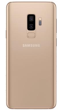 Samsung Galaxy S9 Plus 64GB Sunrise Gold Back