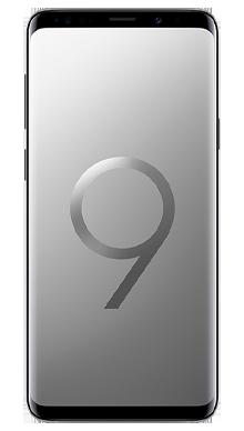 Samsung Galaxy S9 Plus 256GB Titanium Grey Front
