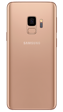Samsung Galaxy S9 64GB Sunrise Gold Back