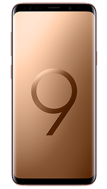 Samsung Galaxy S9 64GB Sunrise Gold Front