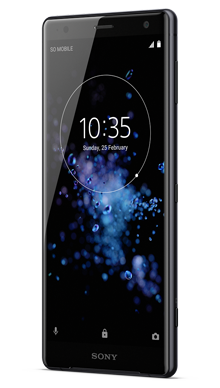 Sony Xperia XZ2 Black Side