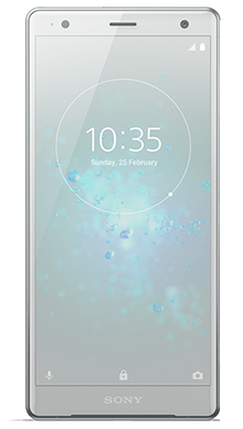 Sony Xperia XZ2 Silver Front