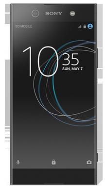 Sony Xperia XA1 Black Front