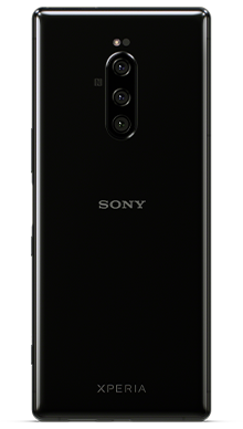 Sony Xperia 1 Black Back