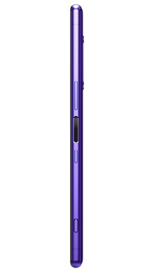 Sony Xperia 1 Purple Side