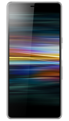 Sony Xperia L3 Silver Front