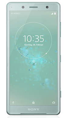 Sony Xperia XZ2 Compact Green  Front