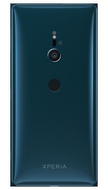 Sony Xperia XZ2 Blue Back