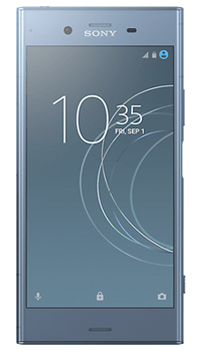 Sony Xperia XZ1 Blue Front