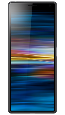 Sony Xperia 10 Black Front