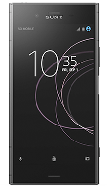 Sony Xperia XZ1 Black Front