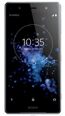 Sony Xperia XZ2 Premium Black Front