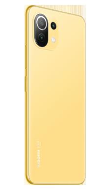 Xiaomi Mi 11 Lite 5G 128GB Citrus Yellow Side
