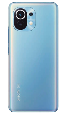 Xiaomi Mi 11 5G 256GB Horizon Blue Back