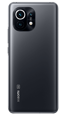Xiaomi Mi 11 5G 256GB Midnight Grey Back