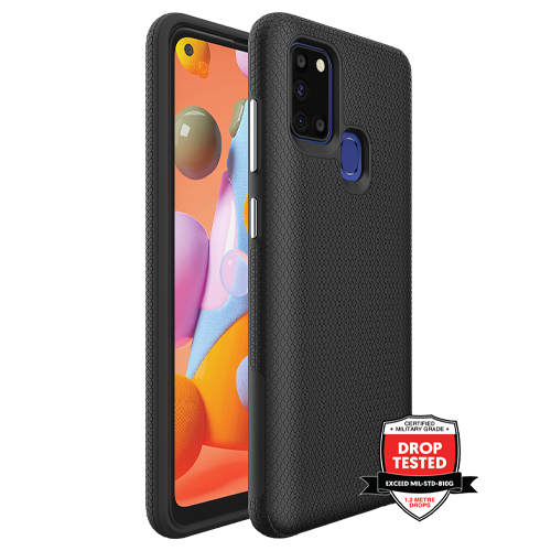 Samsung Galaxy A21s ProGrip Case Xquisite Black