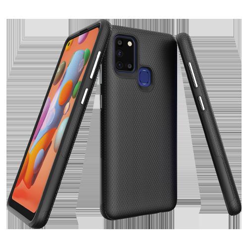 Samsung Galaxy A21s ProGrip Case Xquisite Black Back